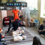Praktyczne zajęcia w zakresie pierwszej pomocy w SP 3