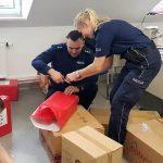 Szlachetna paczka od gołdapskich policjantów