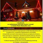 Ile osób w Baniach Mazurskich w tym roku przygotuje przepiękne, świąteczne iluminacje swoich domów?