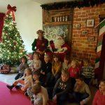 Dzieci ze Szkoły Podstawowej w Boćwinceodwiedziły Świętego Mikołaja