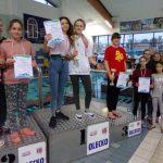 3 miejsce w Drużynowym Pływaniu Mistrzostw Województwa W-M SZS dla SP3 Gołdap