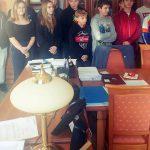 Uczniowie klasy 8 z SP3 odwiedzili gołdapski Magistrat