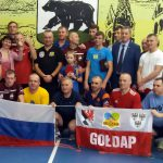 Gołdapscy tenisiści stołowi w Czerniachowsku