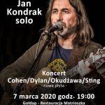 Zapraszamy na recital Jana Kondraka
