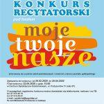 Biblioteka Publiczna zaprasza do udziału w konkursie recytatorskim