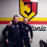"""Trener z """"Akademii Piłkarskiej 2017"""" Gołdap na stażu w """"Jagiellonii"""" Białystok"""