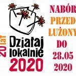 Przedłużenie naboru wniosków w konkursie Działaj Lokalnie 2020