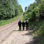 Gołdap. Rosyjska rodzina przekroczyła zieloną granicę. Rosjanie zamierzali dostać się do Niemiec