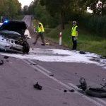 Motocyklista ofiarą wypadku drogowego