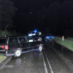 Kolejny wypadek na terenie powiatu – policjanci apelują o zachowanie szczególnej ostrożności podczas jazdy