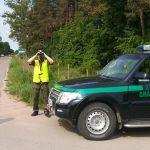 Motocyklista z sądowym zakazem prowadzenia pojazdów, zatrzymany przez Straż Graniczną