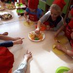 Zajęcia kulinarne w Oddziałach Przedszkolnych