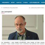 Rozmowa z gołdapskim prozaikiem w Radiu Olsztyn