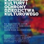 Szansa na dofinansowanie działań związanych z ochroną dziedzictwa kulturowego