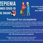 Od piątku (15.01.2021 r.) rozpoczyna się rejestracja osób na szczepienia przeciw COVID-19 z grup wiekowych80+i70+