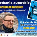 Spotkanie z pisarzem podczas Światowego Dnia Książki i Praw Autorskich