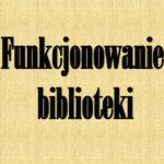 Zasady wypożyczeń zbiorów bibliotecznych