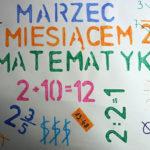 Święto Matematyki w Szkole Podstawowej nr 5