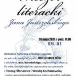 Wieczór literacki z Janem Jastrzębskim