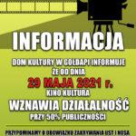 """Rusza Kino """"Kultura"""""""