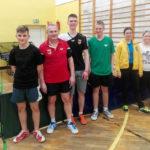 Młodzi mistrzowie tenisa stołowego trenowali w Gołdapi