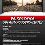 Dom Kultury w Gołdapi zaprasza na wydarzenia związane z 76. rocznicą Obławy Augustowskiej