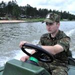 Na jeziorze Gołdap przewróciła się żaglówka z pięcioma osobami. Pomogli im funkcjonariusze SG
