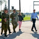 Spotkanie w Gołdapi z amerykańską delegacją